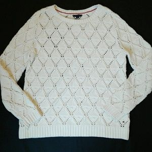 Tommy Hilfiger Bulky Chunky Cotton Sweater XL